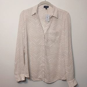 The Limited   Ashton Button Down Blouse - NEW - S